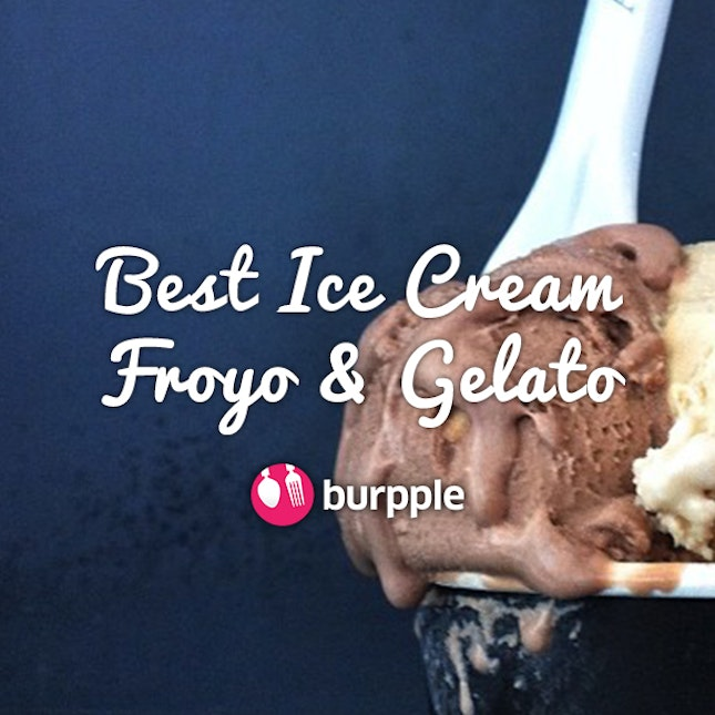 Best Ice Cream, Froyo & Gelato in Singapore
