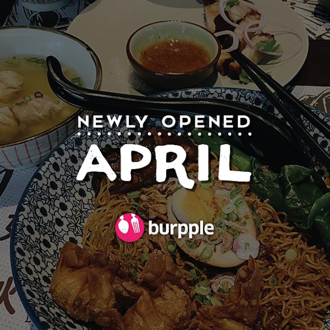 New Restaurants, Cafés And Bars in KL: April 2017