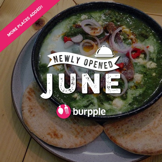 New Restaurants, Cafés And Bars in KL: June 2016
