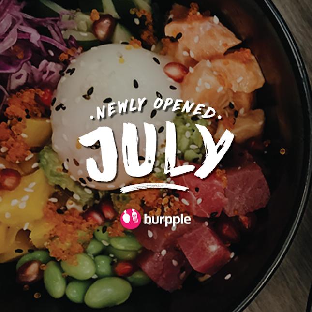 New Restaurants, Cafés And Bars in KL: July 2017