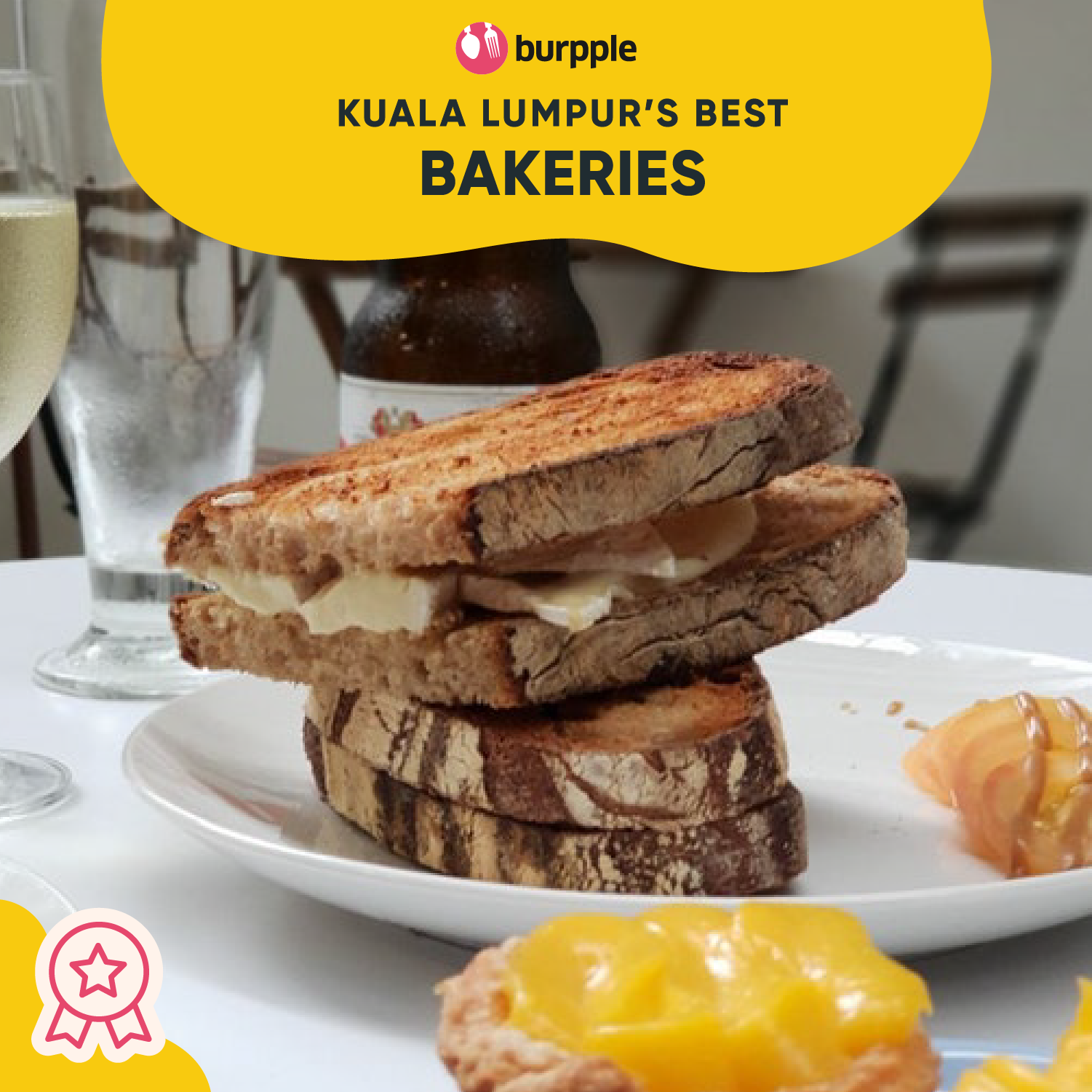 Best Bakeries in Kuala Lumpur for Breads, Pastries, Tarts & More