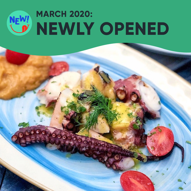 New Restaurants, Cafes & Bars in Singapore: March 2020