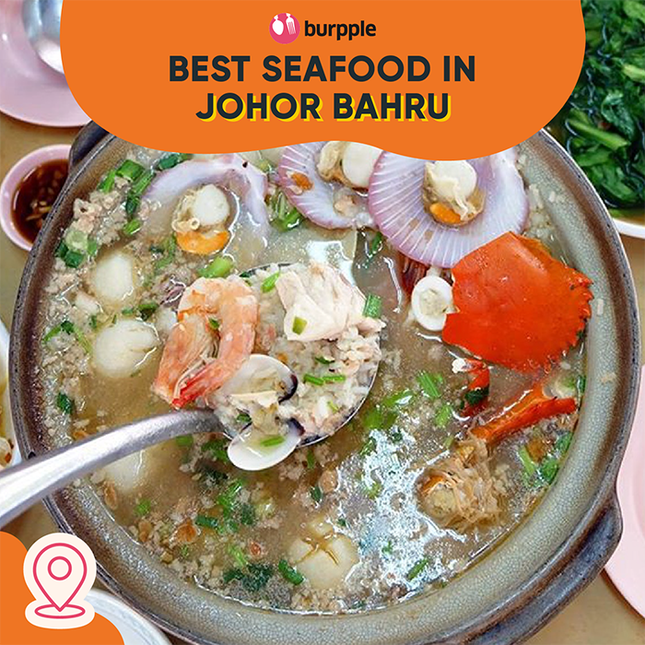 Best Places for Seafood in Johor Bahru