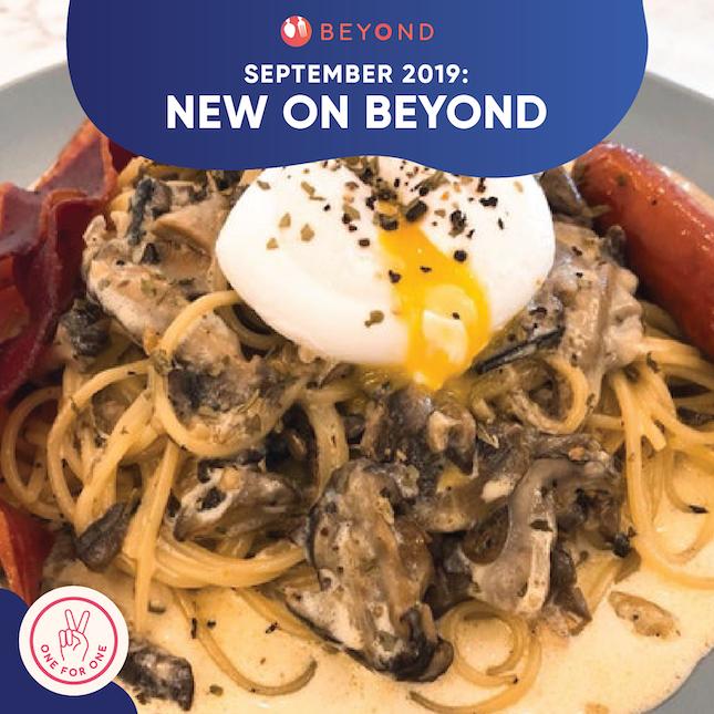 New On Burpple Beyond: September 2019
