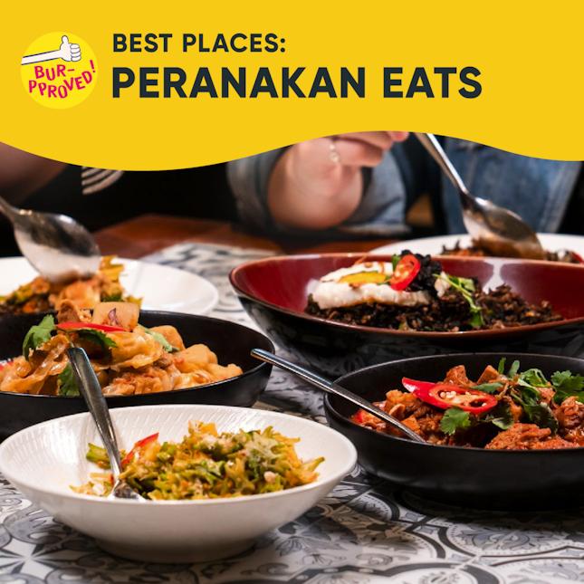 Best Peranakan Food In Singapore