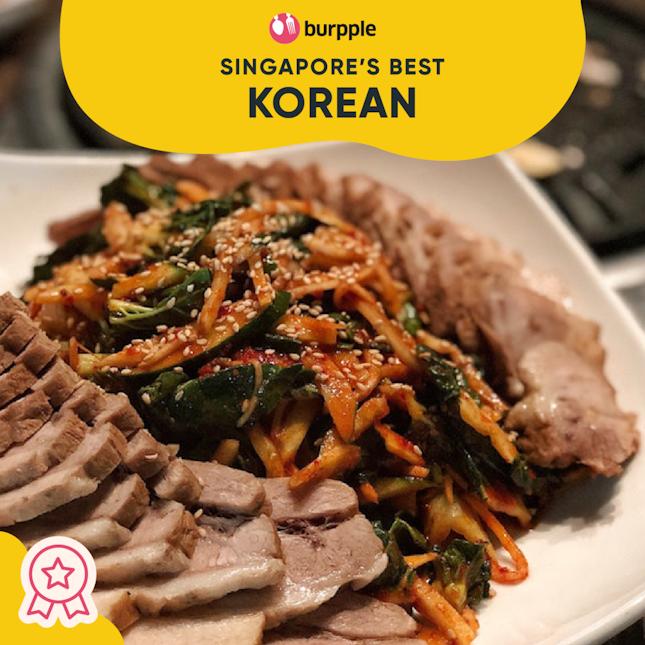 Best Korean in Singapore