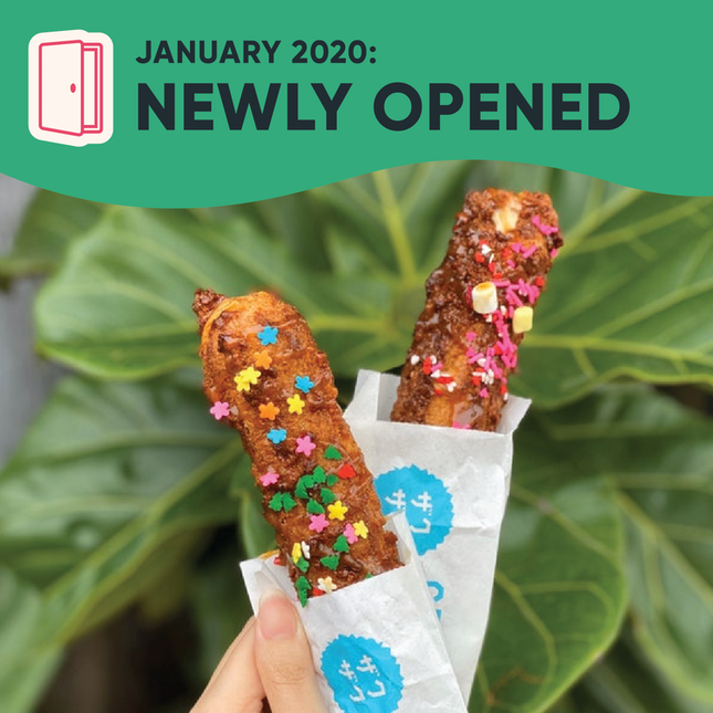 New Restaurants, Cafes & Bars in Singapore: January 2020