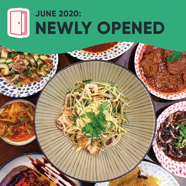 New Restaurants, Cafes & Bars in Singapore: June 2020