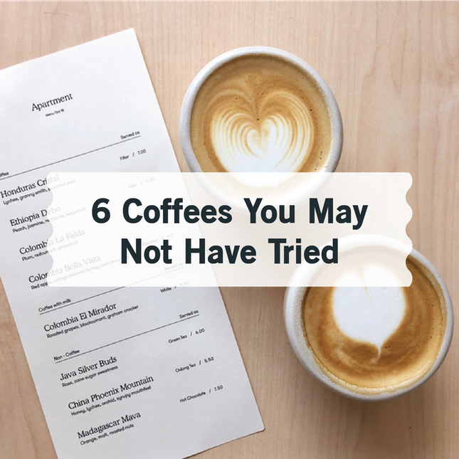 6 Coffees You May Not Have Tried