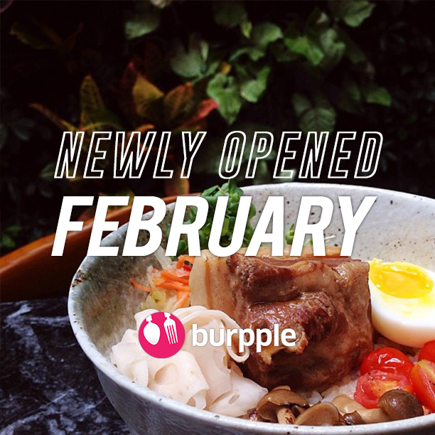 New Restaurants, Cafes and Bars: February 2015