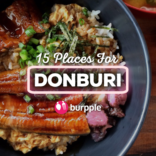 15 Best Places for Donburi In Singapore