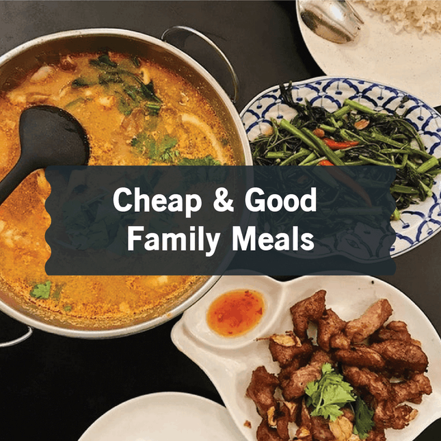 Best Cheap and Good Family Meals in Singapore