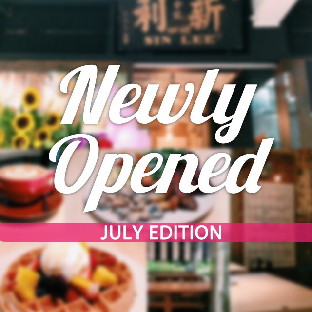 New Restaurants, Cafes And Bars: July 2014
