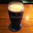 Pre-dinner Guinness