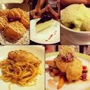 pasta & dessert