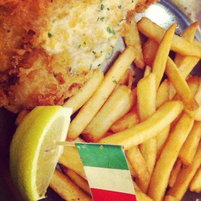 Italian Fish And Chips