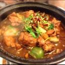 Chicken Hot Pot!