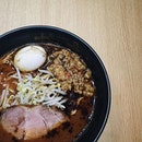 Spicy miso ramen which you can choose the level of spiciness from level 1 - 4.