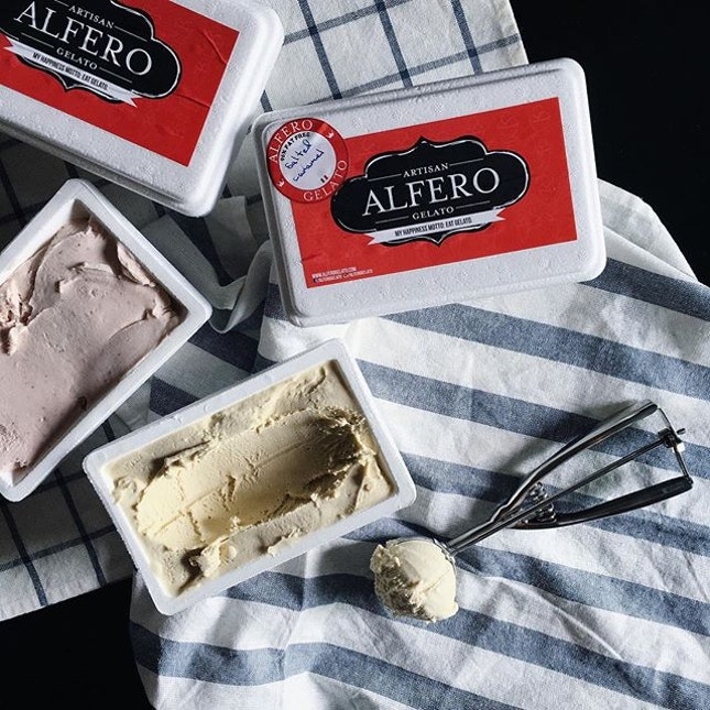 My favorite gelato place, Alfero Gelato was crowned the Best Ice Cream Parlour by RAS Epicurean Star Award Singapore 2015.