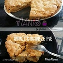 "By @manisbyaprima ""Apple Crumble Pie #manisbyaprima #apple #pie #dessert #foodporn"" via @PhotoRepost_app"
