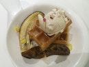 Burnt Banana Waffle
