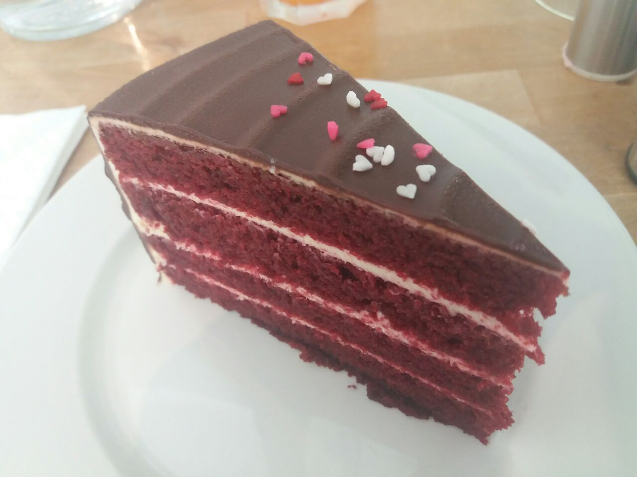 Chocolate Red Velvet Cake ($9.5)