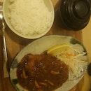 Chicken Katsu Demu Glazed Sauce