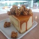 Salted Caramel Popcorn Cake