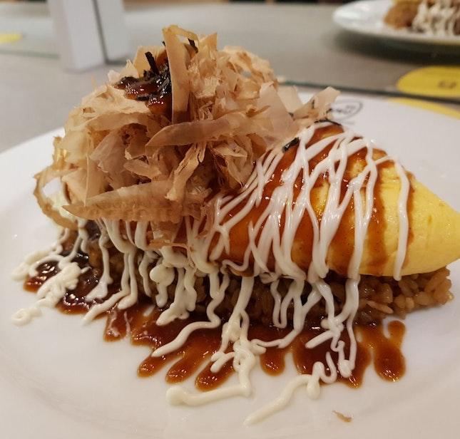 Okonomiyaki Omurice Lava $15.8