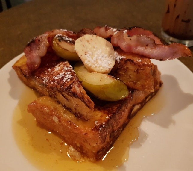 Savory French Toast ($16)