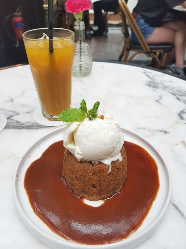 Sticky date Pudding ($15)