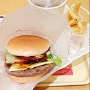 Wagyu Beef Burger Set