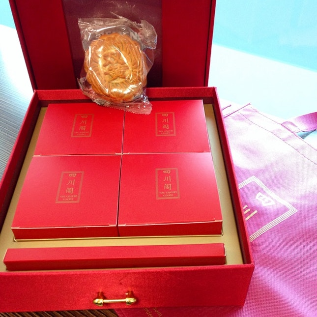 Szechuan Court Mooncakes