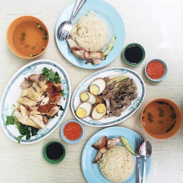 Chicken Rice In SG