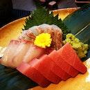 Air flown Sashimi - Chu Toro, Kanpachi & Tai🍣