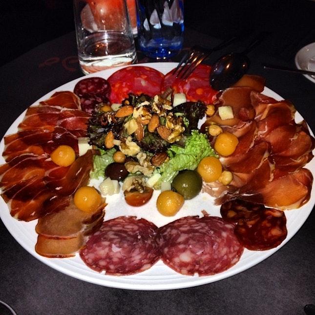 One of my fav dishes - Spanish Ham Platter🍴