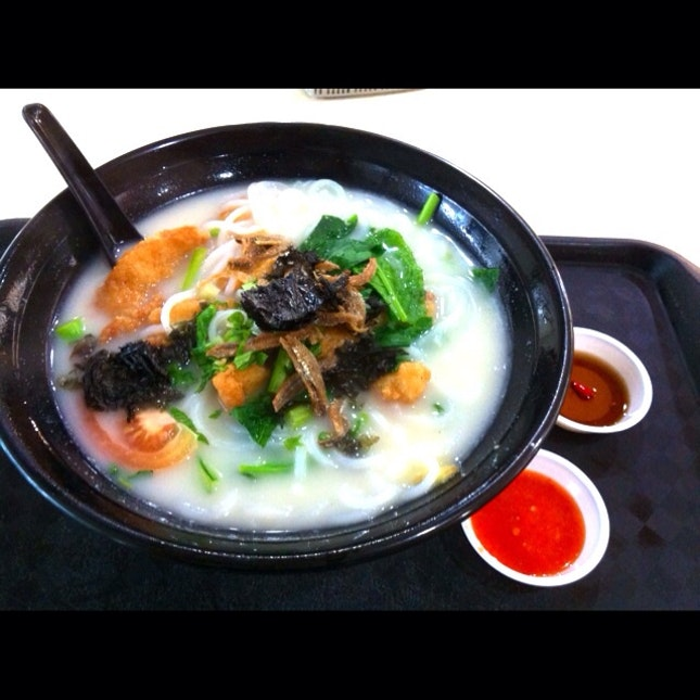 Fried Fish Meat Rice Noodle
