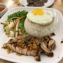 Grilled Lemongrass Chicken with Sunny Side-Up Egg