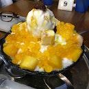 Mango Pops Bingsu