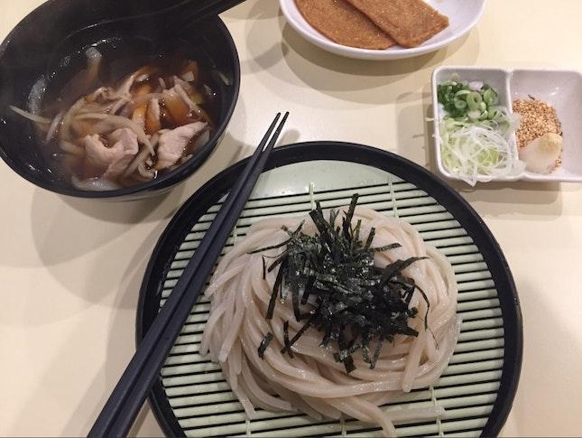 Cold Udon + Sliced Pork