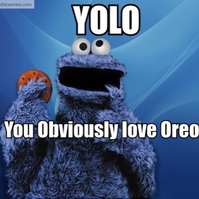 Yolo You Obviously Love Oreos