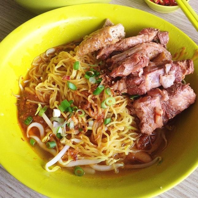Hua Seng Pork Ribs Noodle