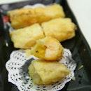 Deep Fried Mango Prawn