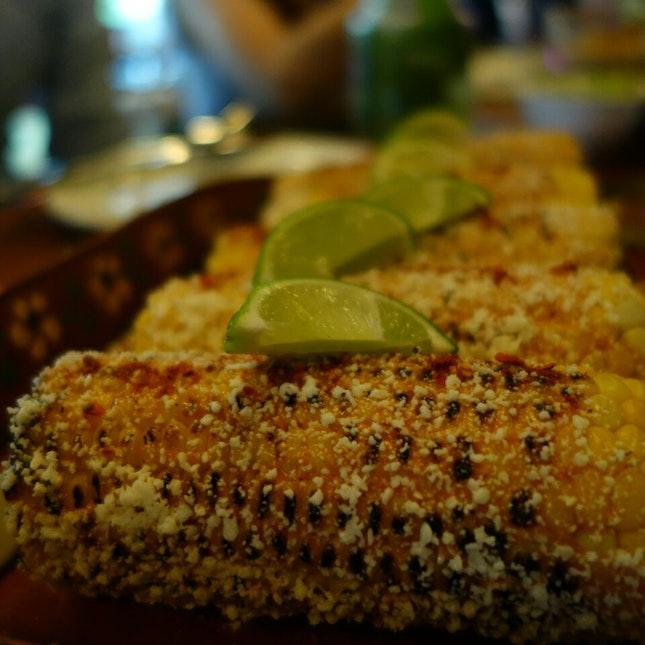 Elote - Grilled Corn