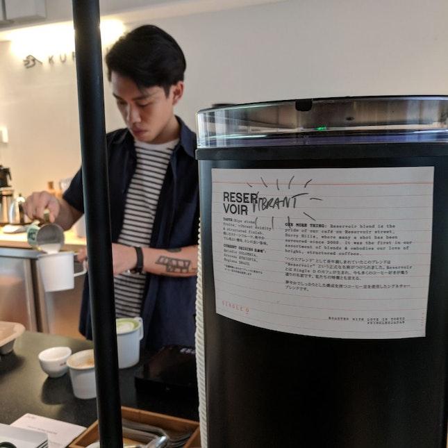 Japanese Coffee And Matcha Latte