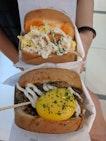 Hearty Breakfast Themed Sandwiches