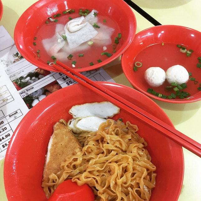 Tasty Teochew style Mee Pok