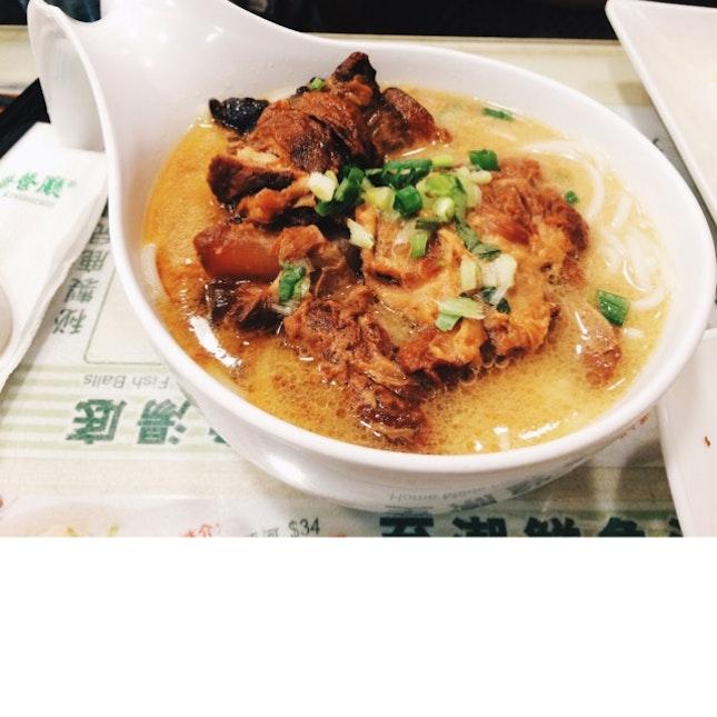 Pork Brisket Noodles