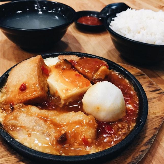 Hotplate Spicy Yong Tau Foo