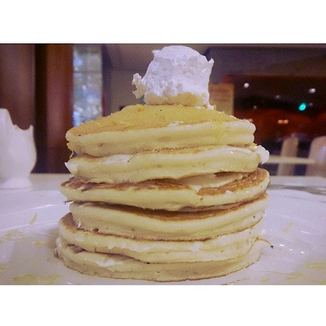 Lemon Pancake w/ Cream Cheese.